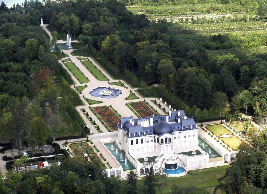 chateau XIV louveciennes